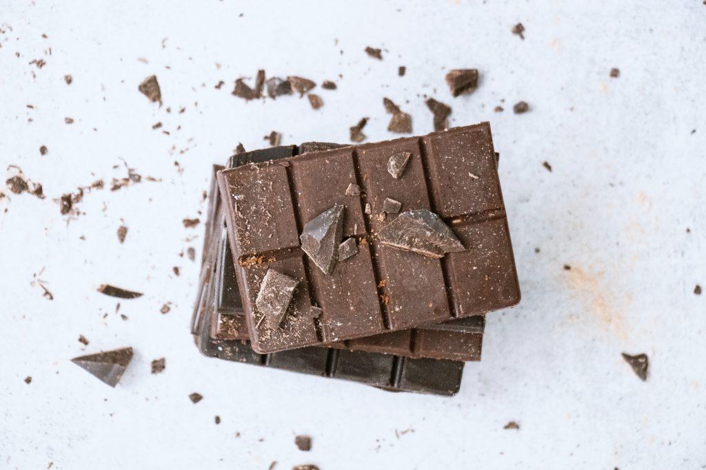 foto di un cioccolatino