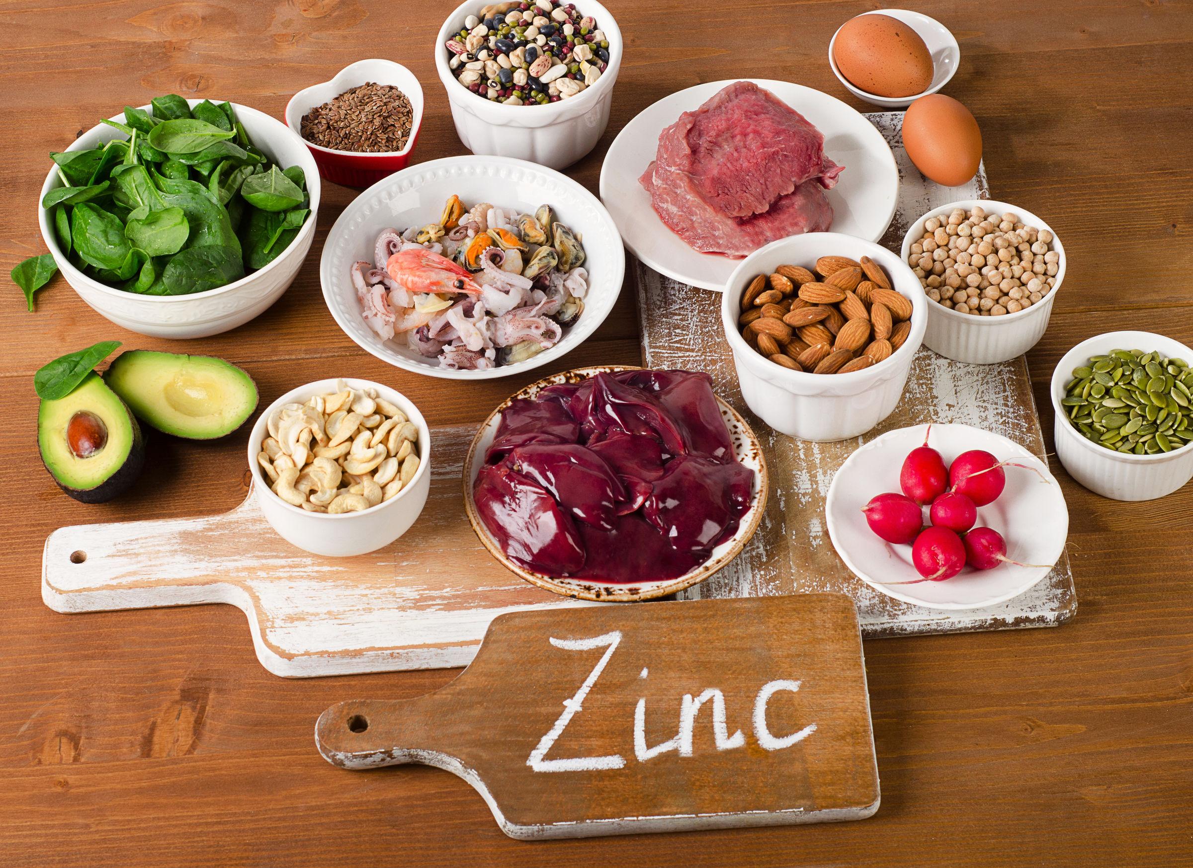 Zinco alimenti: Quali sono i cibi più ricchi di zinco?
